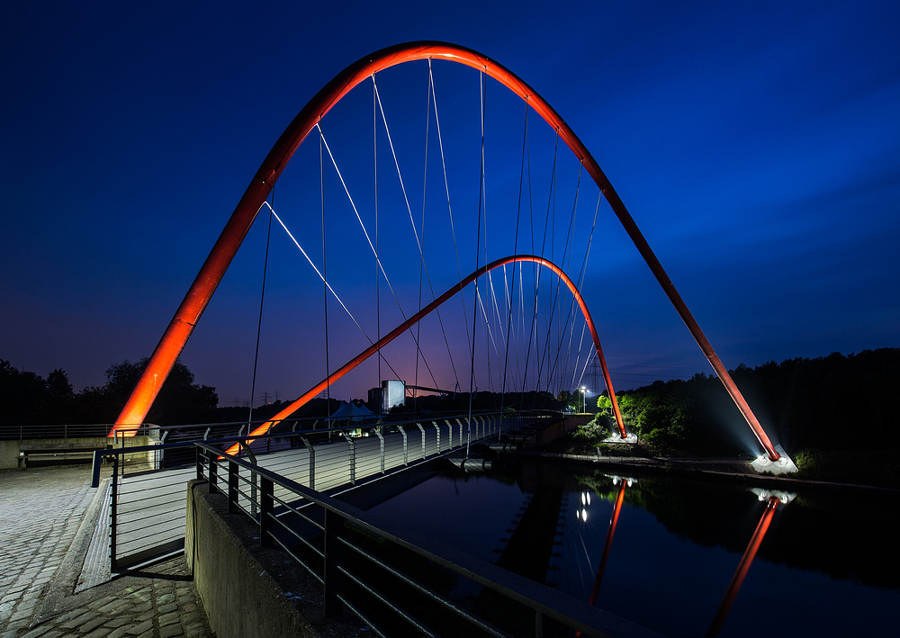 Doppelbogenbrücke