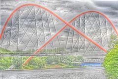 Doppelbogenbrücke im Landschaftspark