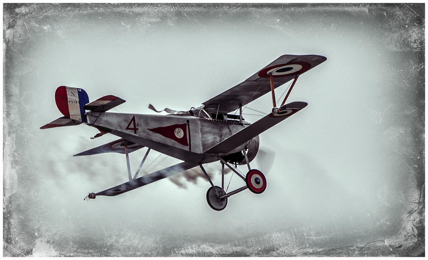 Doppeldecker  Nieuport 17