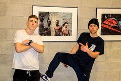 Doppelportrait Breakdancer Stgt vs New York