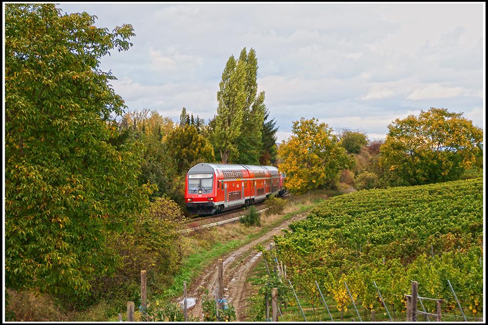 Doppelstöckig durch Rheinhessen