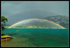 Doppelter Regenbogen 2