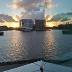 doppelter Sunset in Amsterdam S3-16col Feb16