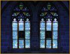 Doppeltes Kirchenfenster.