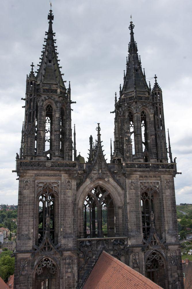 Doppelturm im Dom zu Meißen
