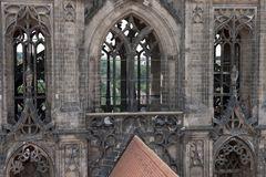 Doppelturm im Dom zu Meißen (Detail-Ansicht)