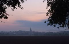 Dorf am Morgen 1