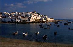 Dorf an der Algarve