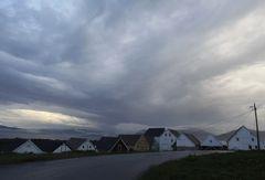Dorf auf Runde, Norwegen