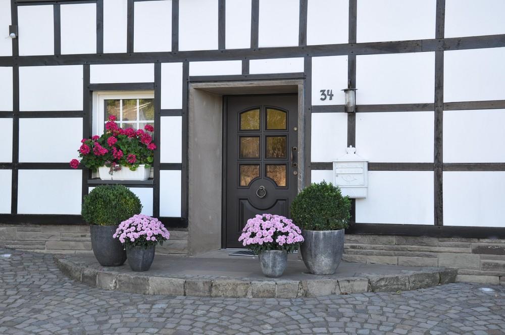 Dorf idylle im Bergischen Land
