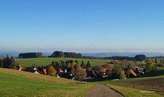 Dorf im Hotzenwald