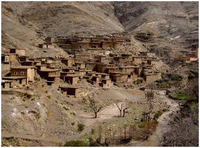 Dorf in Marokko