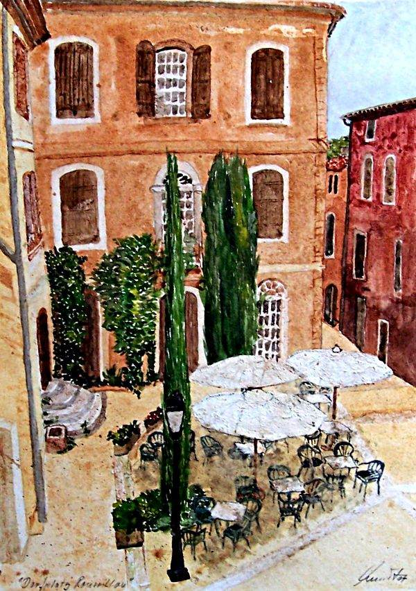 Dorfansicht Roussillon