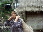 Dorffrau in Nordlaos