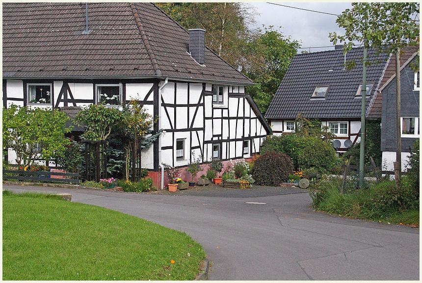 Dorfidylle im Oberbergischen