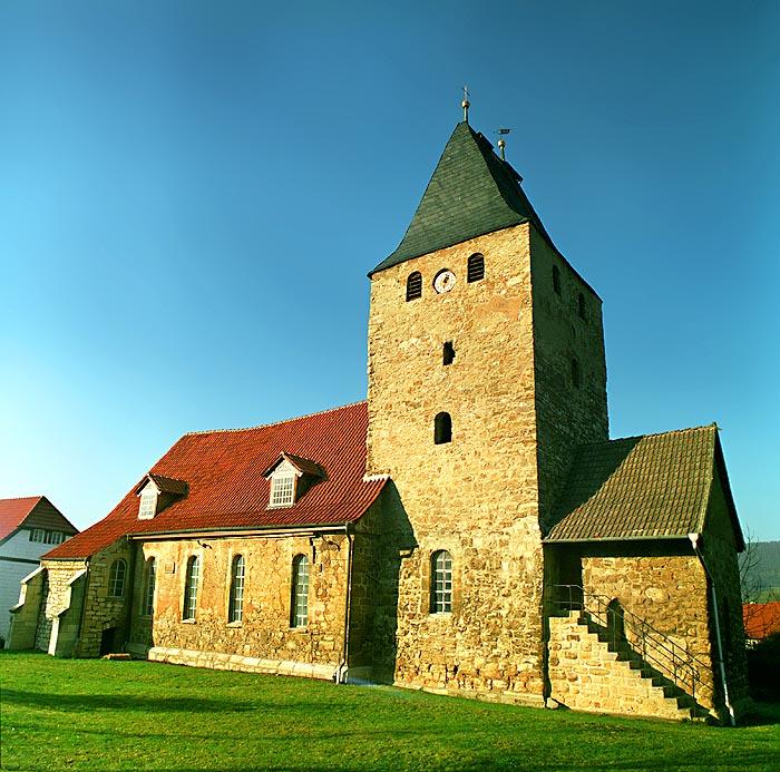 Dorfkirche in Thüringen