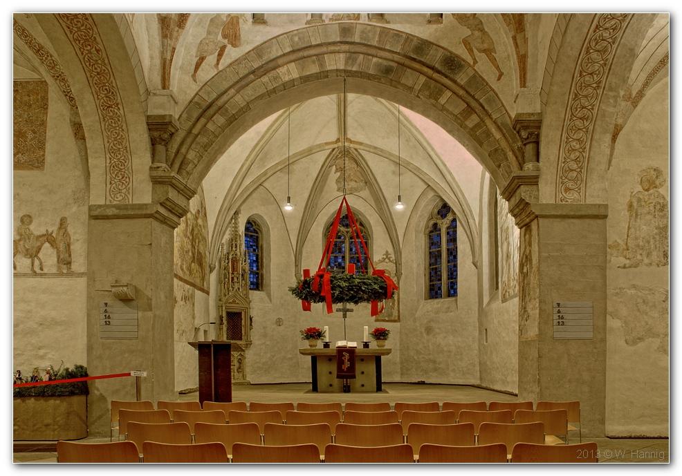 Dorfkirche von innen