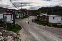 Dorfleben, Hopedale , Labrador       DSC_2216