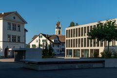 Dorfplatz von Uetikon