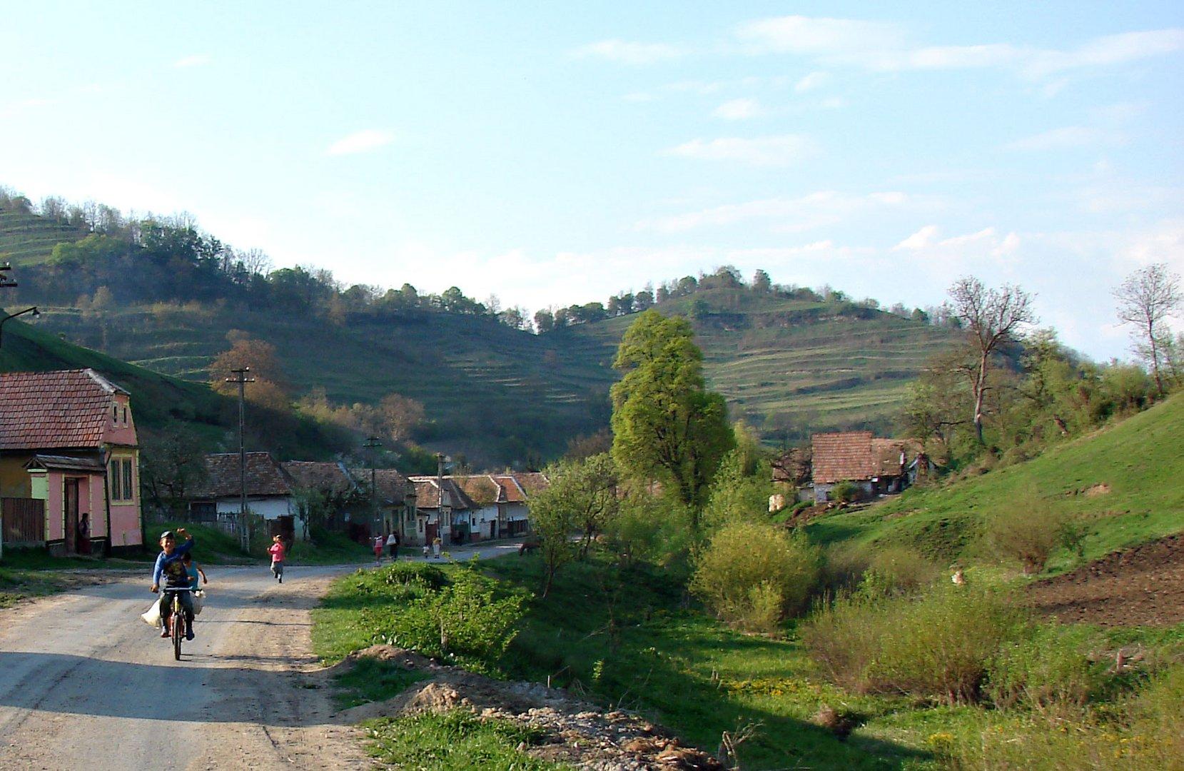 Dorfrand Richis - Reichesdorf