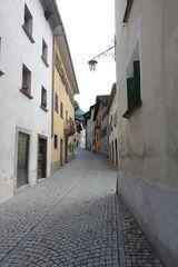 Dorfstrasse Castasegna im Bergell