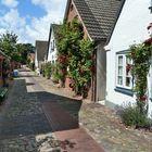 Dorfstraße in Wyk auf Föhr