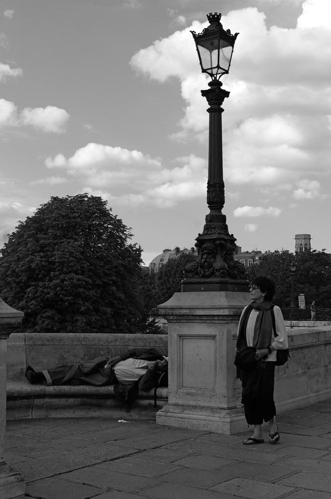 Dormeur du Quai de Seine