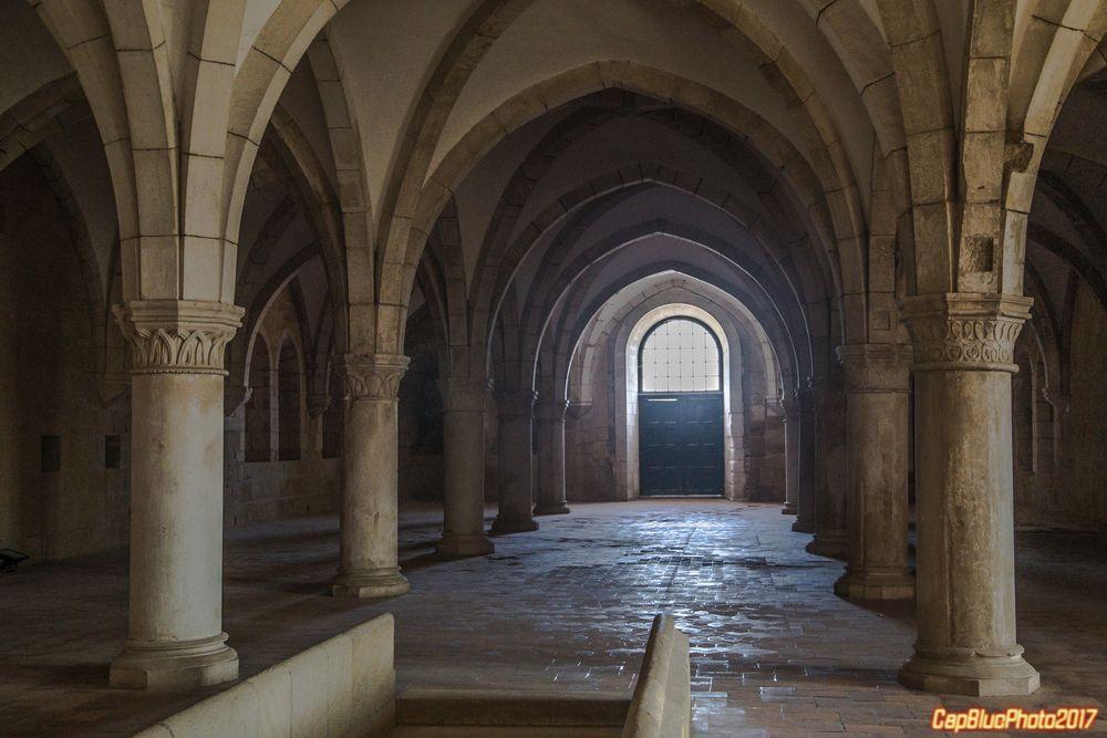 Dormitorium im Mosteiro de Alcobaca