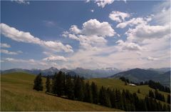 Dort unten liegt die Alp...