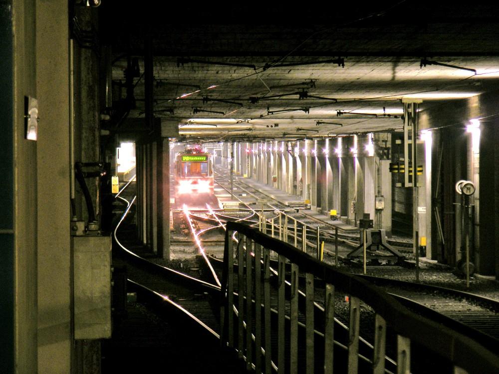 Dort wo die U-Bahnen schlafen