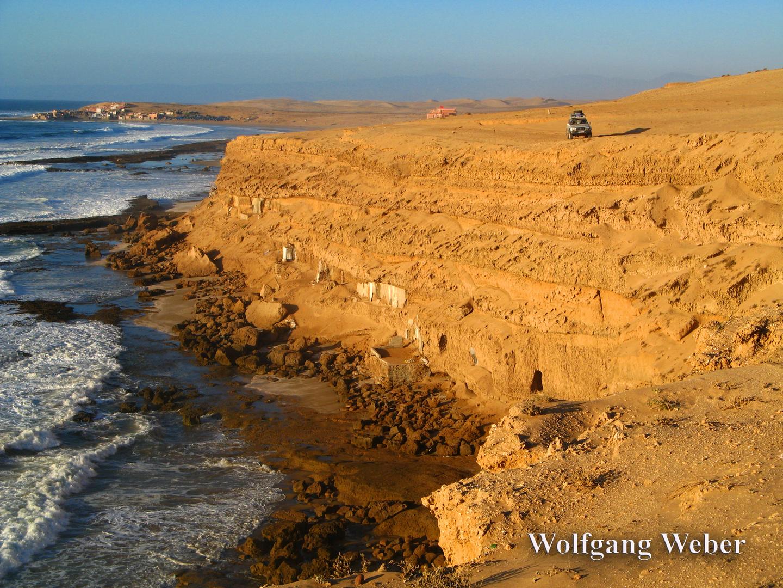 Dort wo die Wüste auf das Meer trifft.