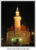 Dortmunder Hafenamt by night