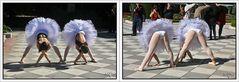 Dos bailarinas: Dos perspectivas. GKM5-III