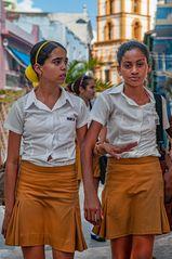 Dos chicas de Camagüey