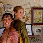 Dos damas medievales