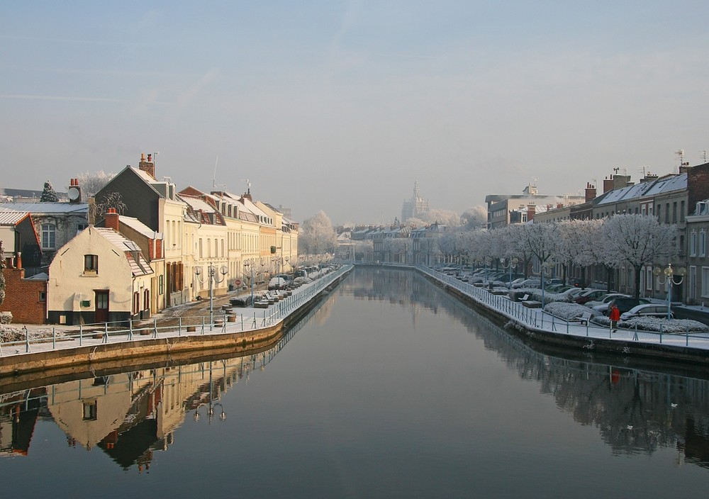 Douai le premier jour de l'hiver 2007
