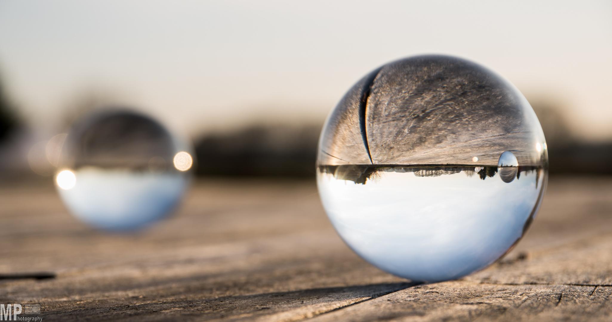 Double Glassbowl