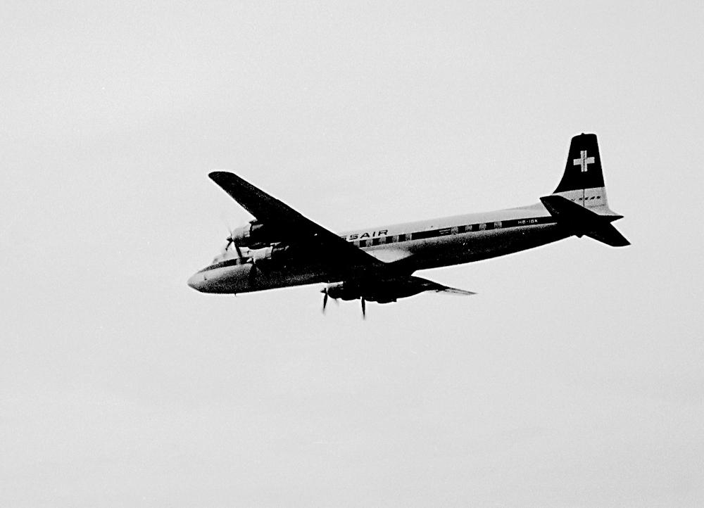 Douglas DC-7C Seven Seas 1960 in Kloten