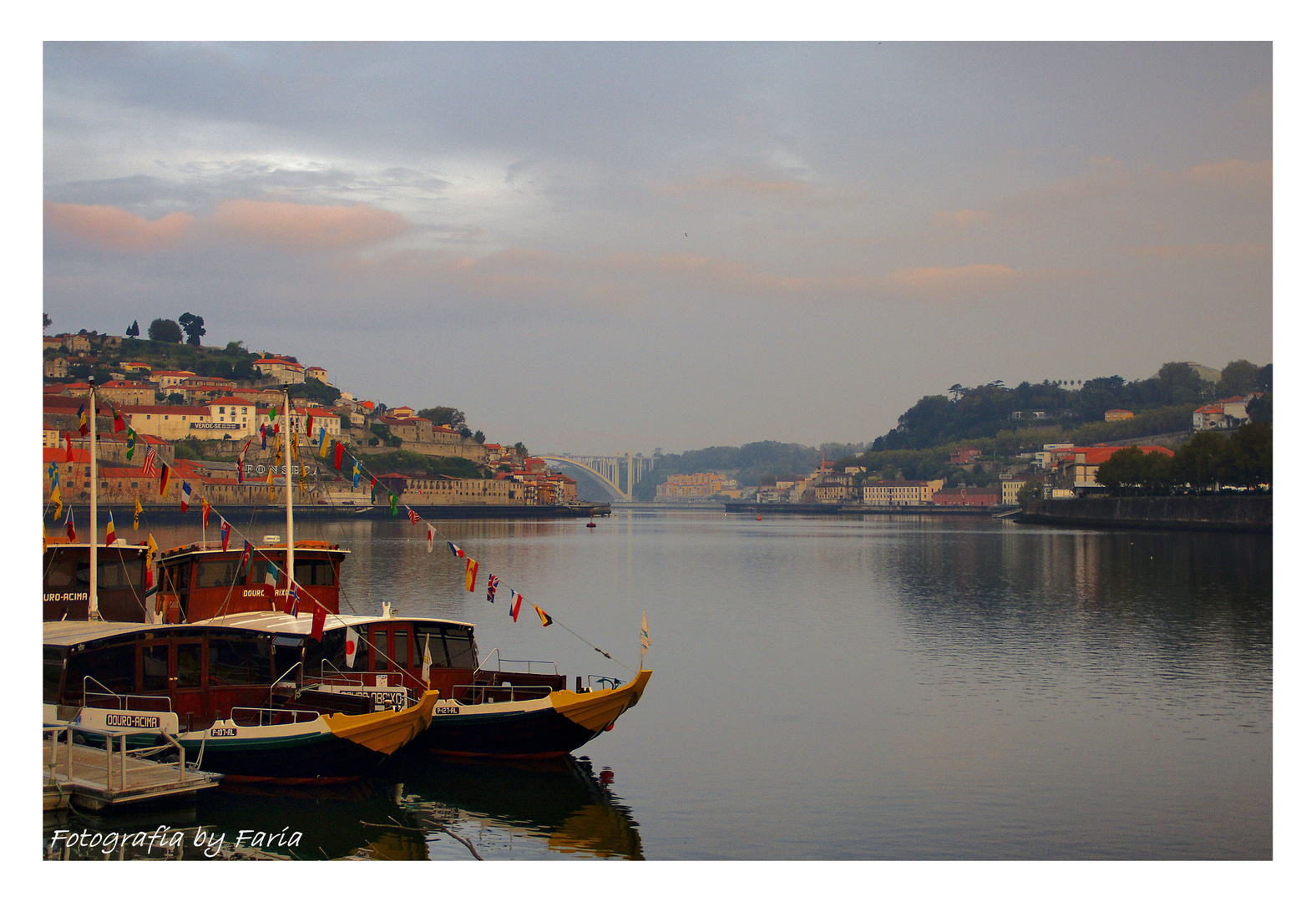 Douro River at the morning