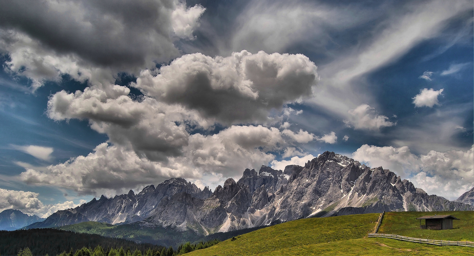 Dove si toccano le nuvole