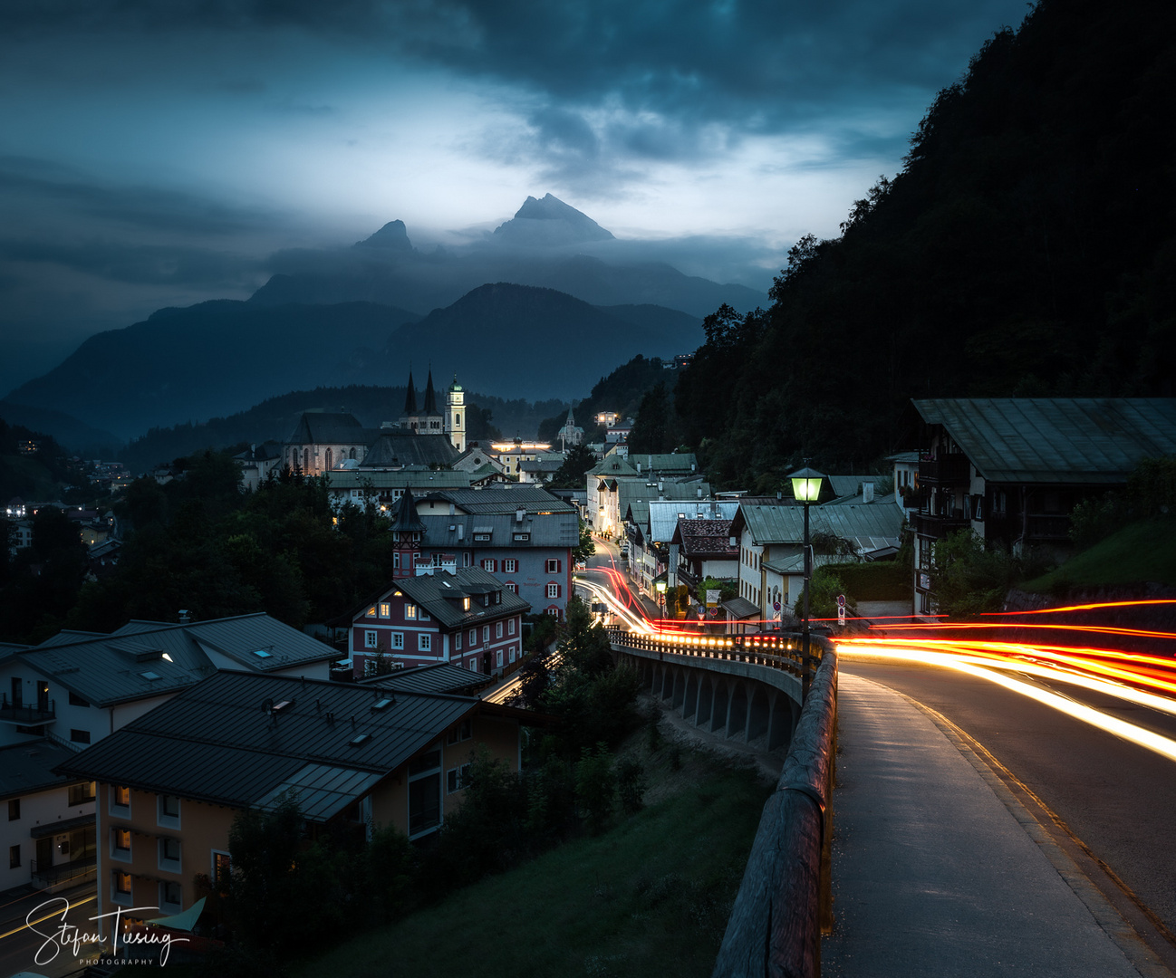 Down to Berchtesgaden