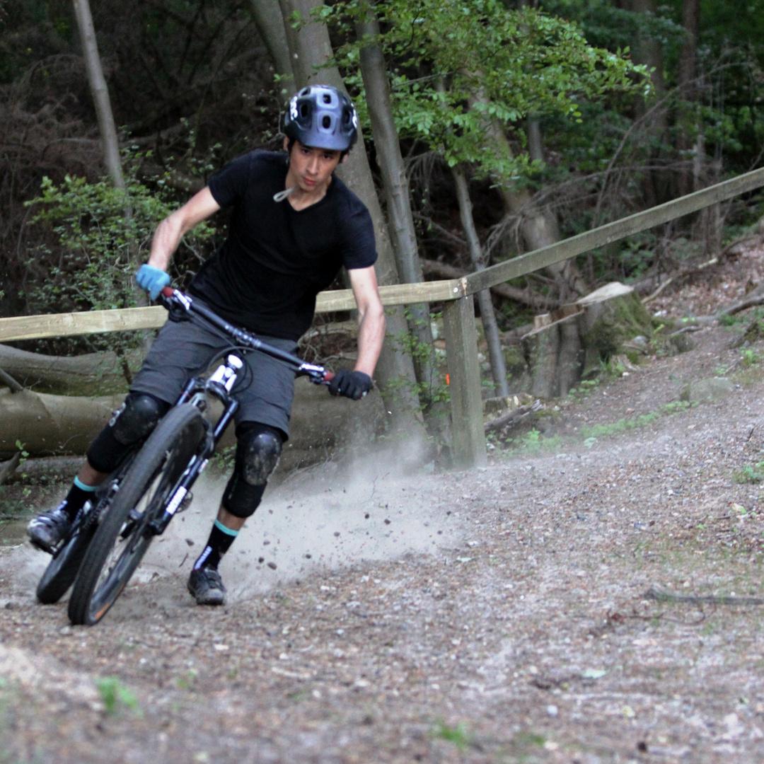 Downhill an der Flensburger Förde