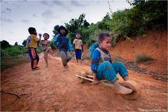 Downhill auf laotisch