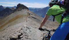Downhill vom Monte Bellino (2937m)