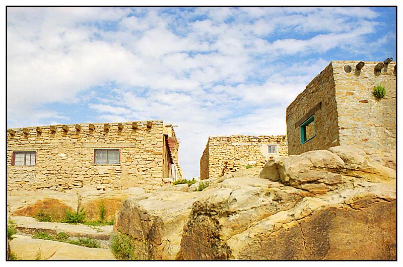 Downstairs - Acoma Pueblo, New Mexico; USA