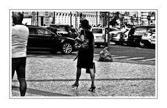 Downtown Lady