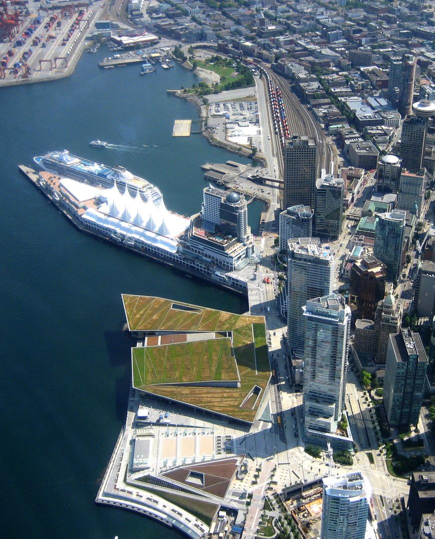 Downtown mit dem neuen Convention- und dem Expo-Center