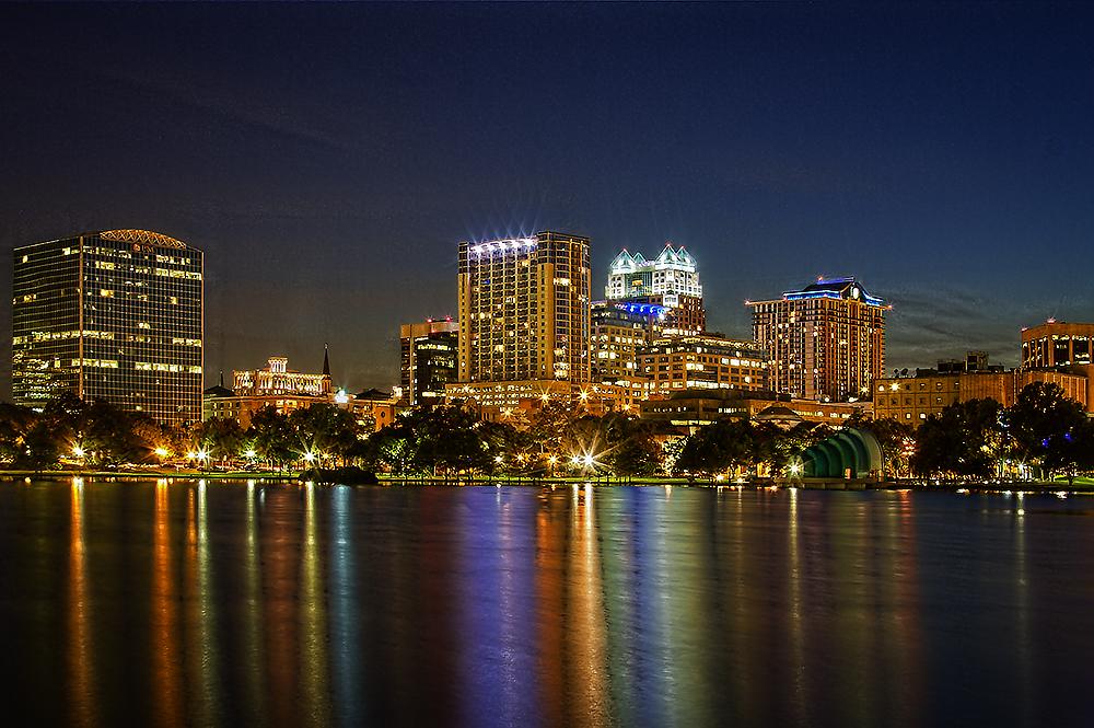 Downtown Orlando...