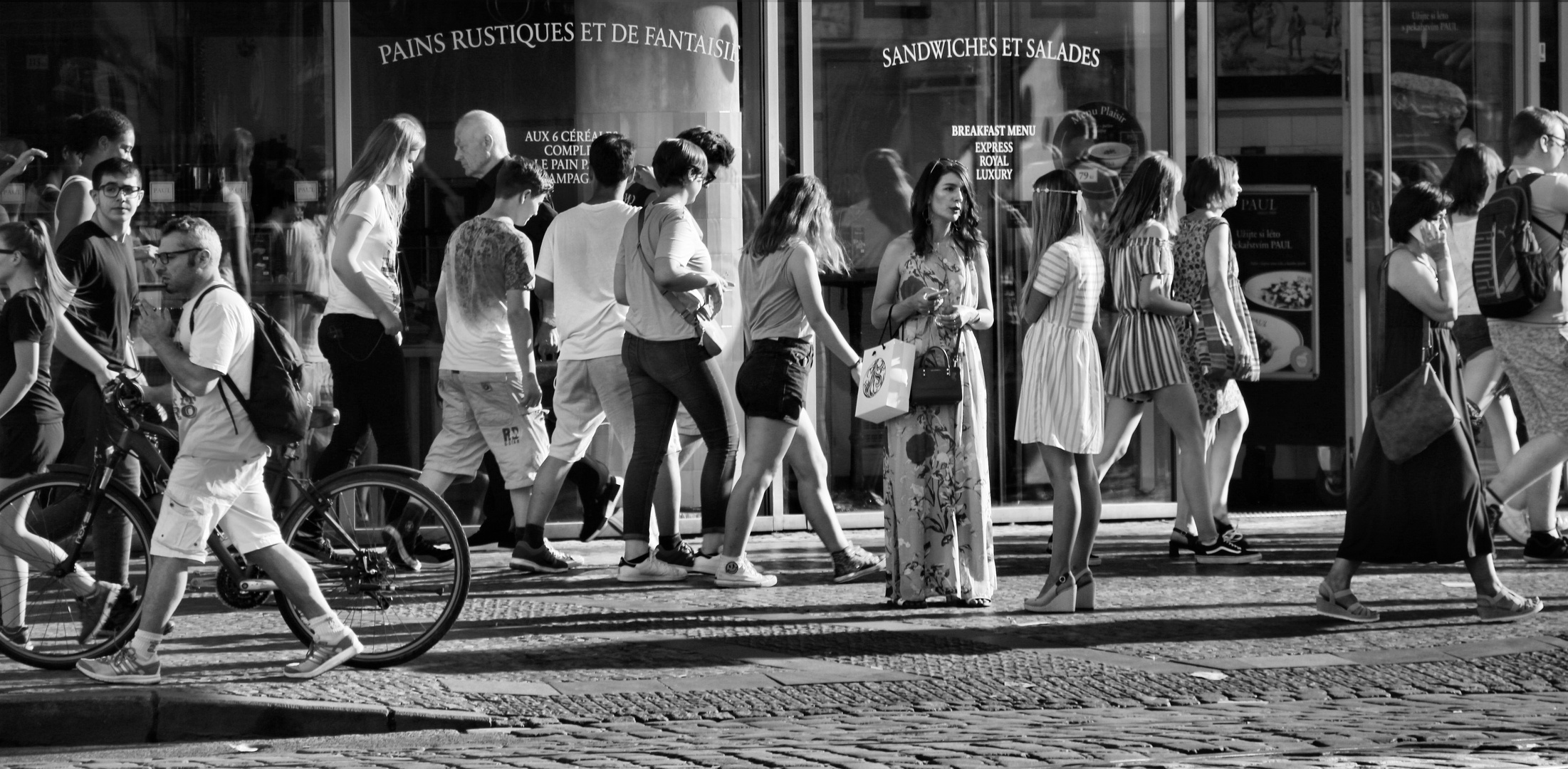 Downtown People - Freeze Frame Foto & Bild | city, people, street ...