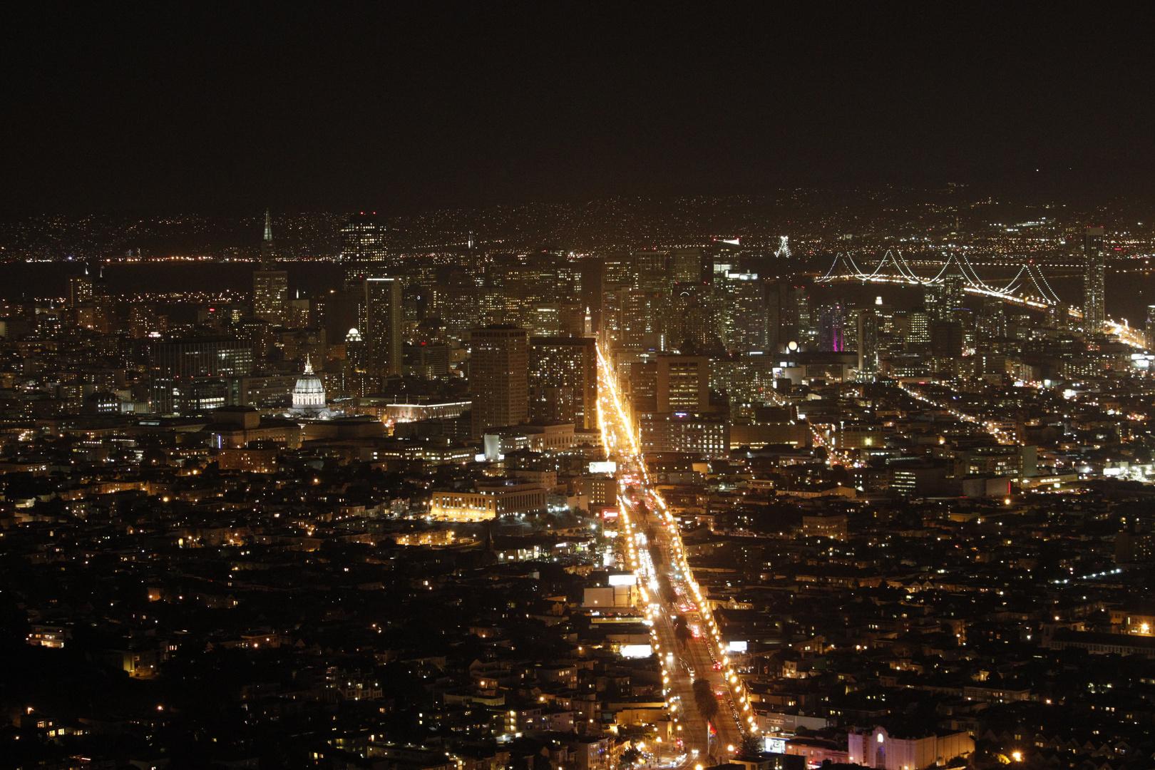 Downtown San Francisco, Oakland Bay Bridge